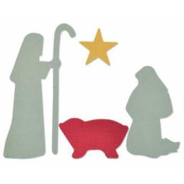 Fustella Bigz – Nativity Scene 661982