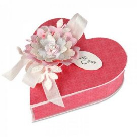Fustella Sizzix Bigz XL Box, Heart 658057