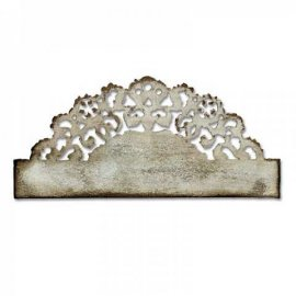 Fustella Sizzix On the Edge Tim Holtz Distressed Doily 657496
