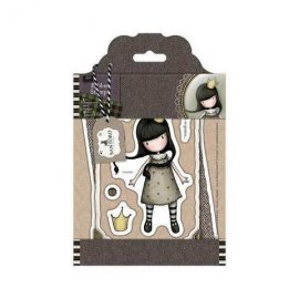GOR 907118 Rubber Stamps - Santoro Tweed - My Own Universe