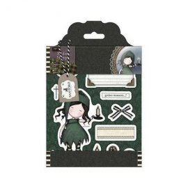 GOR 907119 Rubber Stamps - Santoro Tweed – Nightlight