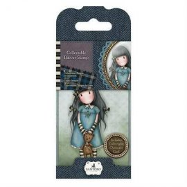 Gorjuss Collectable Rubber Stamp - n. 4 Forget Me Not GOR907304