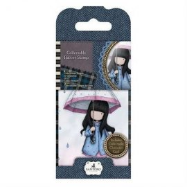 Gorjuss Collectable Rubber Stamp - n. 16 Puddles of Love GOR907316