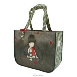 Gorjuss Large Shopping Bag - The Collector 253GJ05