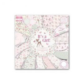 "Carte blocco scrap It's A Girl! FEPAD078 30x30cm (12""x12"")"