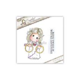 Timbro Magnolia -Dolci anelli di matrimonio Tilda- LD-15 Lovely Ring Twice Tilda duo