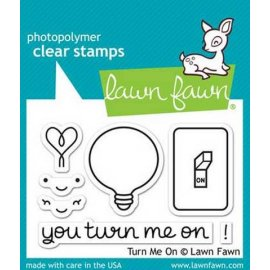LF1020 Clear Stamps - Turn Me On