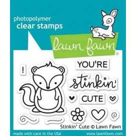 LF1022 Clear Stamps - Stinkin Cute