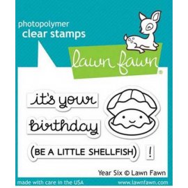 LF1050 Clear Stamps - Year Six
