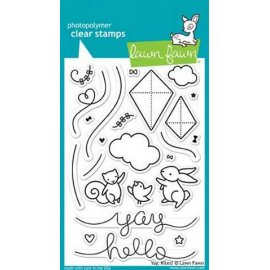 LF1169 Clear Stamps - Yay Kite