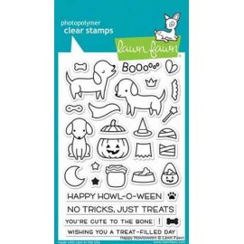 LF1206 Clear Stamps - Happy Howloween