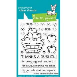 LF1208 Clear Stamps - Thanks a Bushel