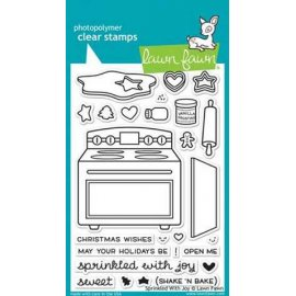 LF1214 Clear Stamps - Sprinkled With Joy