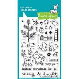 LF1216 Clear Stamps - Cheery Christmas