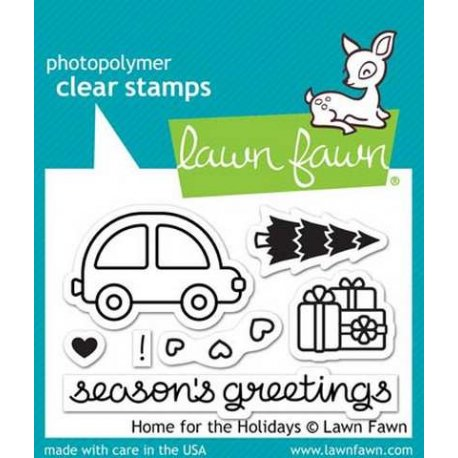 LF1220 Clear Stamps - Home for the Holidays