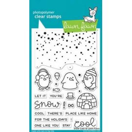 LF1226 Clear Stamps - Snow Cool