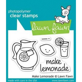 LF395 Clear Stamps - Make Lemonade