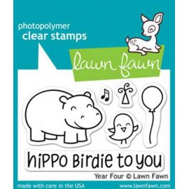 LF655 Clear Stamps - Year Four