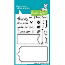 LF731 Clear Stamps - Thank You Tags