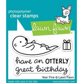 LF807 Clear Stamps - Year Five