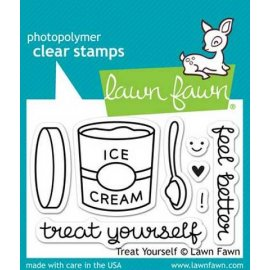 LF897 Clear Stamps - Treat Yourself