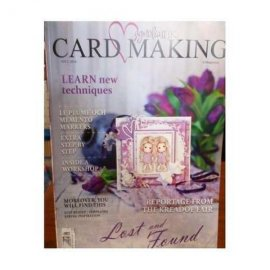 Magnolia ink card making...