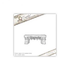 Timbro Magnolia - Panca Natalizia in pizzo- AH-16 Christmas Lace Bench