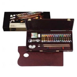 Rembrandt Oil Colour Box Traditional – 01840004