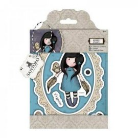 Rubber Stamps - Santoro - The Owl - GOR 907208