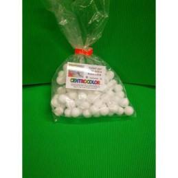 Set polistirolo pieno 70 palline diam. 2 cm