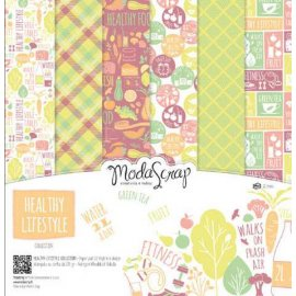SET CARTA MS HEALTHY LIFESTYLE 30x30 cf.12 fg. (MSA30BHL)