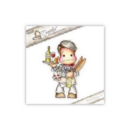 Timbro Magnolia - Edwin il francese - SF-16 Frenchy Edwin