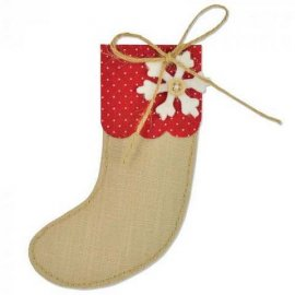 Sizzix Bigz Die - Christmas Stocking 661297