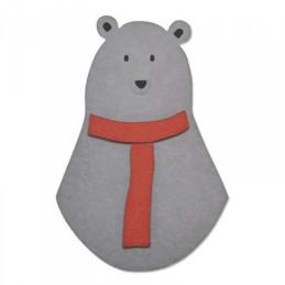Sizzix Bigz Die - Loving Bear 660883