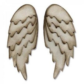 Sizzix Bigz L Die - Feathered Wings 660990