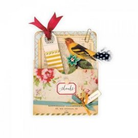 Sizzix Bigz XL Die - Library Pocket 660700