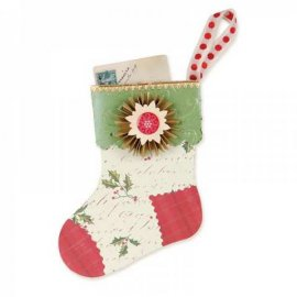 Sizzix Bigz XL Die - Stocking Gift Holder 658744