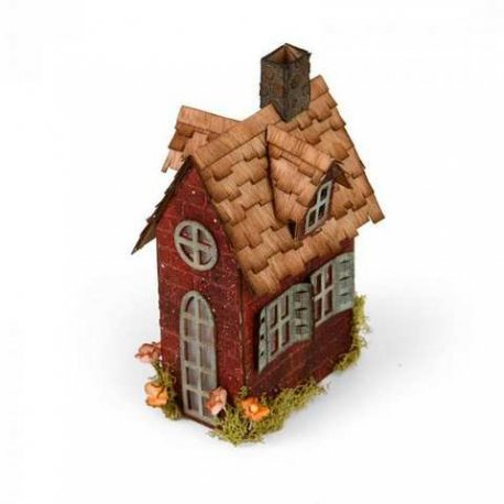 Sizzix Bigz XL Die - Village Brownstone 661205