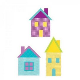 Sizzix Bigz XL Die - Village Buildings 659164-660121