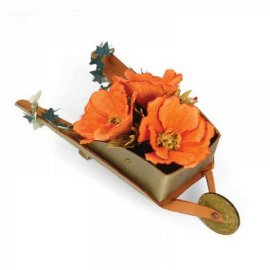 Sizzix Bigz XL Die - Wheelbarrow, 3-D 658427