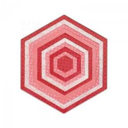 Sizzix Framelits Die Set 10PK - Hexagons658609