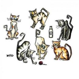 Sizzix Framelits Die Set 22PK - Crazy Cats661209