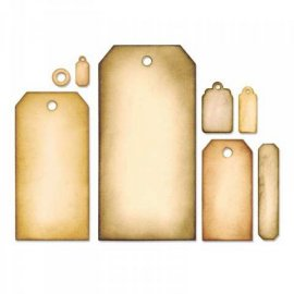 Sizzix Framelits Die Set 8PK - Tag Collection 658784