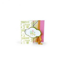 Sizzix Movers & Shapers L Die - Card, Decorative Flip-its  658839