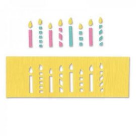 Sizzix Movers & Shapers Magnetic Die – Candles 659541