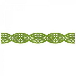 Sizzix Sizzlits Decorative Strip Die - Leafy Border 658615