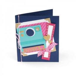 Sizzix Thinlits Die Set 16PK - Card, Instant Camera 660004