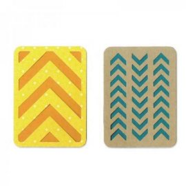 Sizzix Thinlits Die Set 2PK...
