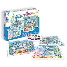 """Aquarellum """"Delfini""""- 6220 -(8 - 99 anni)"""