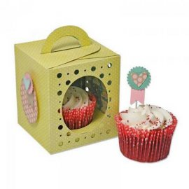 Sizzix Thinlits Plus Die Set 18PK - Box, Cupcake 660842